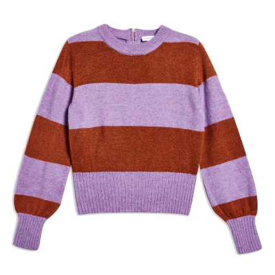 Bold Stripe Crew Neck Jumper